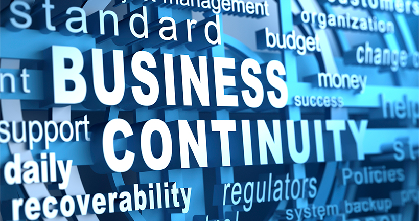 earthquake online business continuity plan
