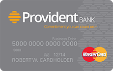 Provident Business Debit MasterCard